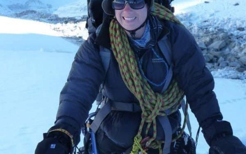 Mt Brewster climbing