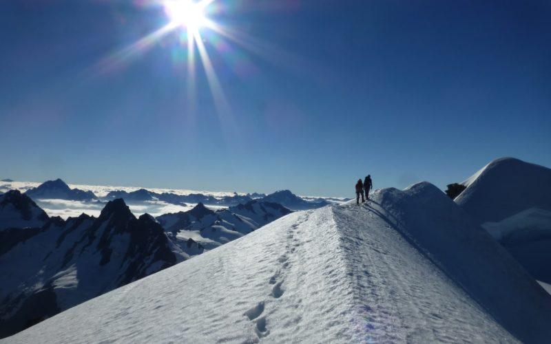 A week of summit climbing