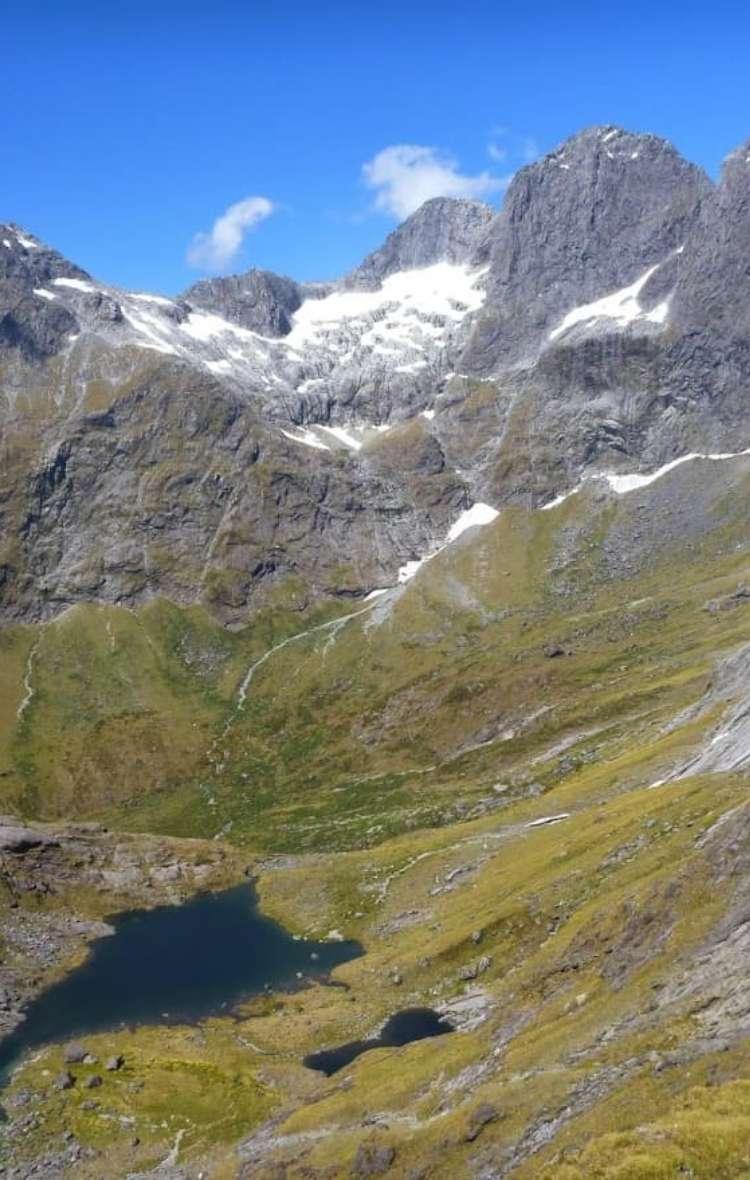 Lake South America and Mount Sabre