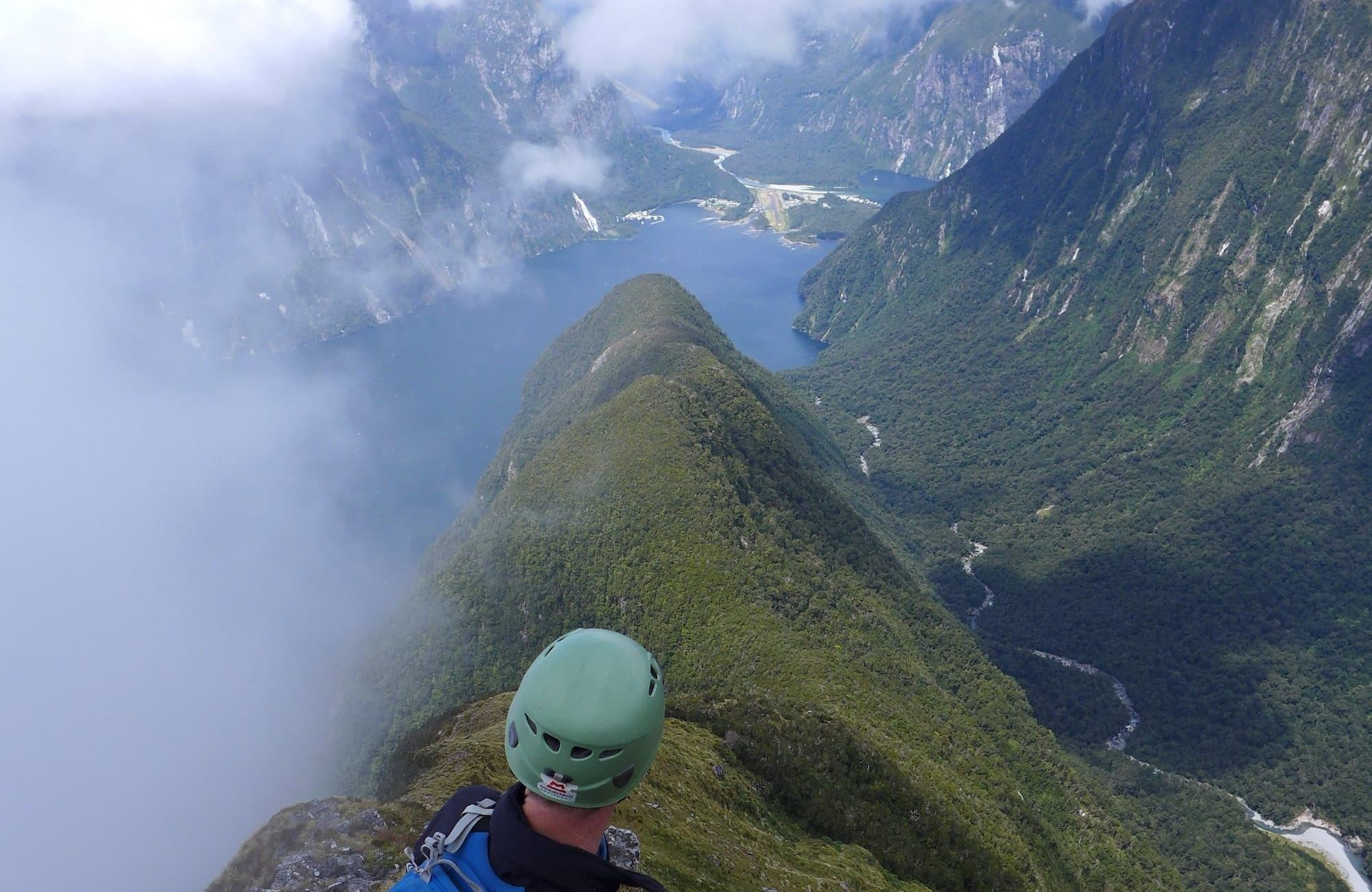 Milford Sound from Mitre Peak