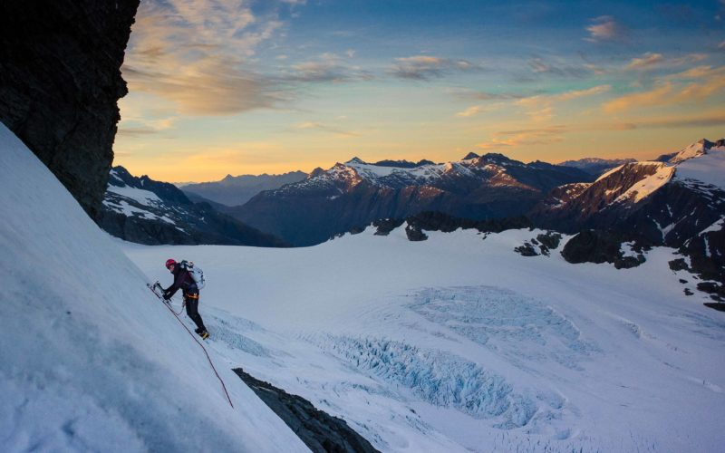 Climbing Mt Aspiring with Aspiring Guides