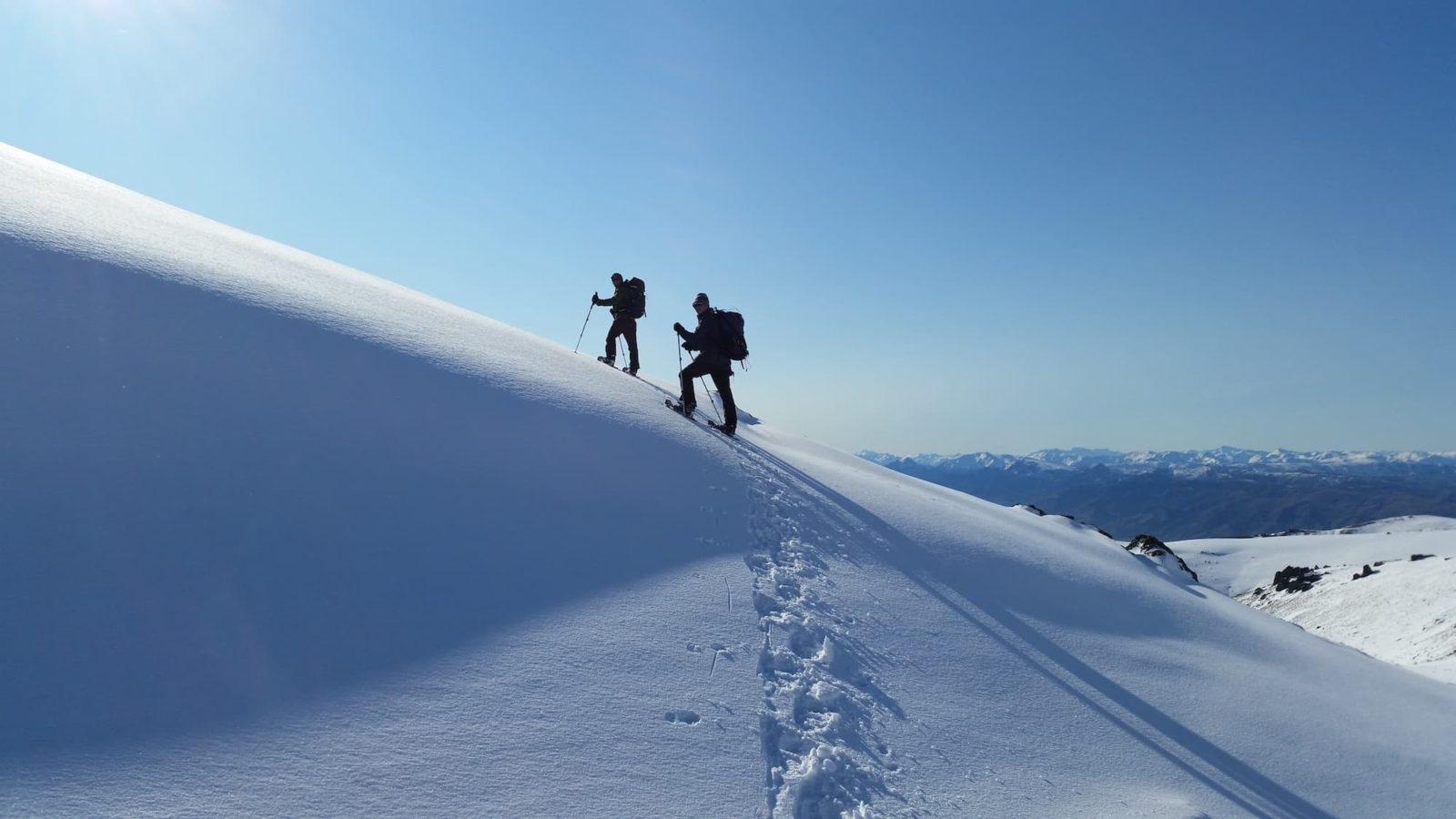 Photo tramping in avo terrain