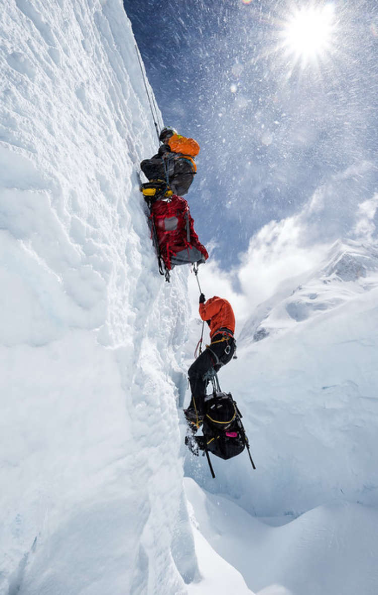 Crevasse, Mountaineering Skills Course