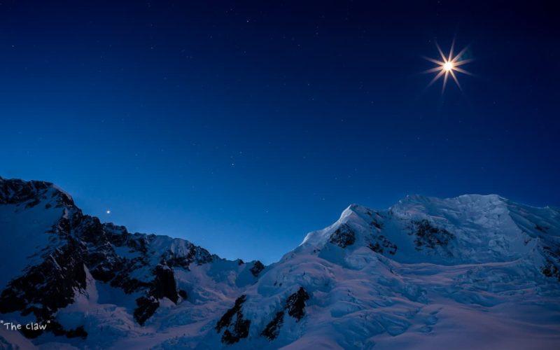 Night Views Plateau Hut