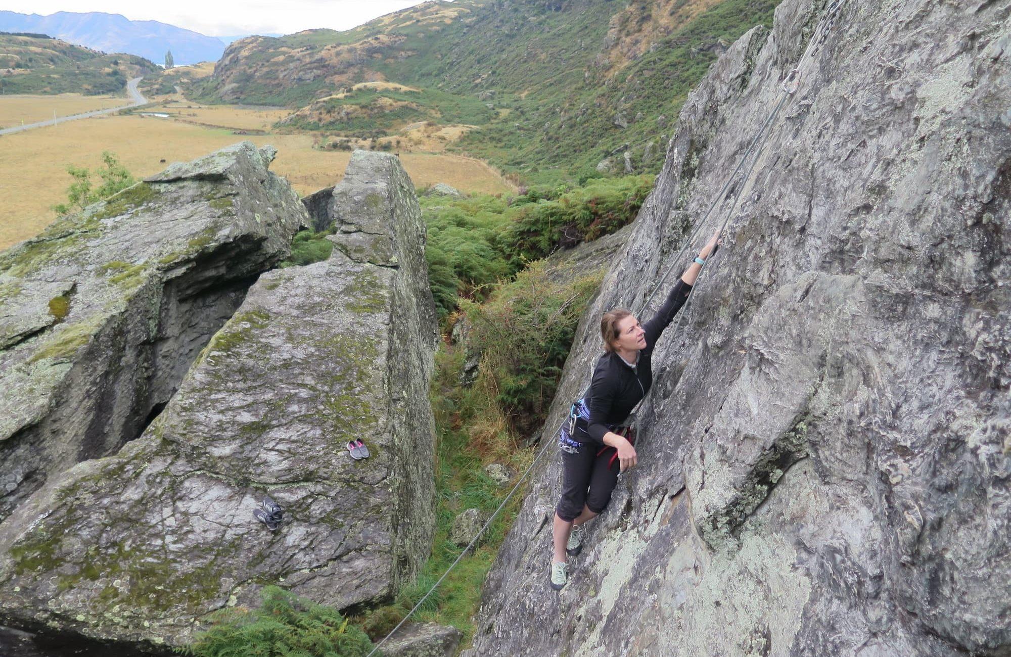 Multi Pitch climbing Wanaka, Aspiring Guides