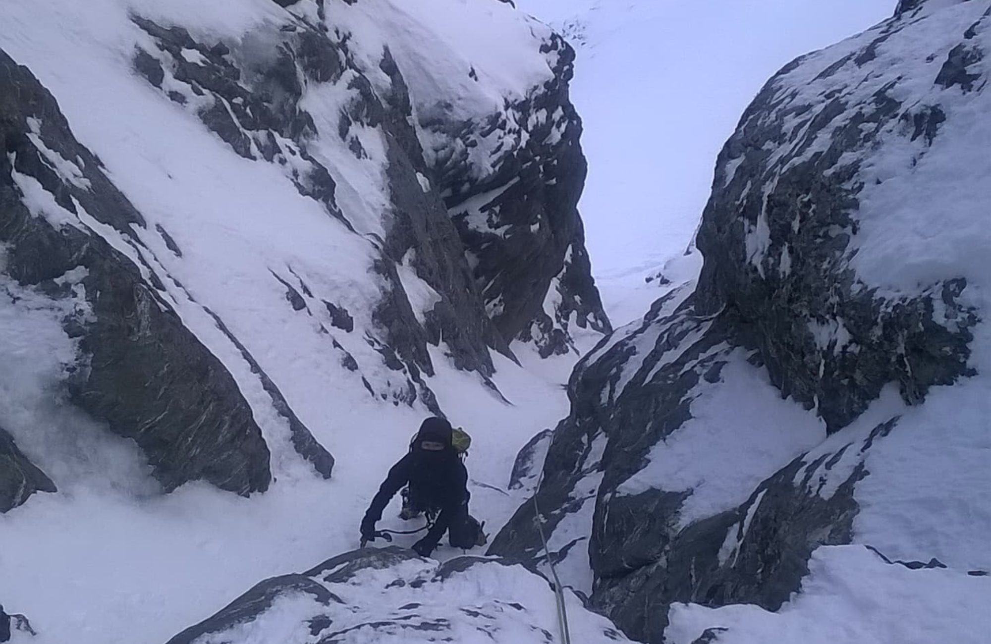 Remarkables Winter Climbing
