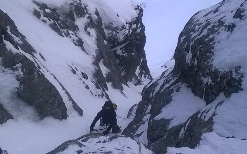 Remarkables Winter Climbing