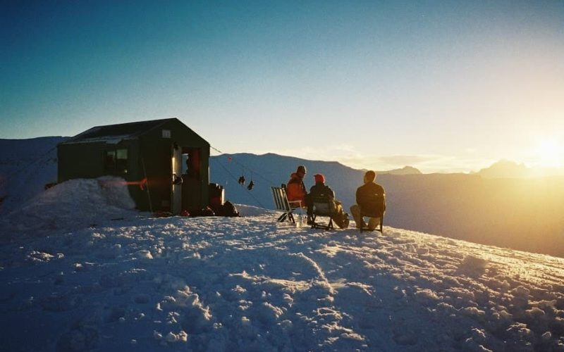Aspiring Guides Private Black Peak Hut