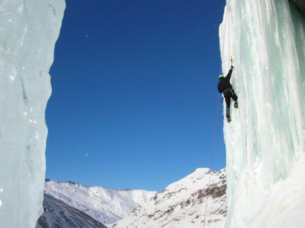 Aspiring Guides Ice Climbing