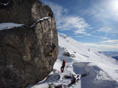 Winter Alpine Mountaineering