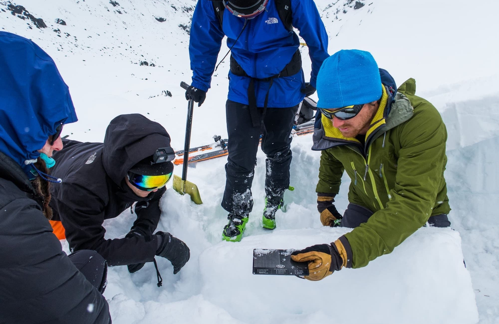 Snow Analysis Avalanche Training