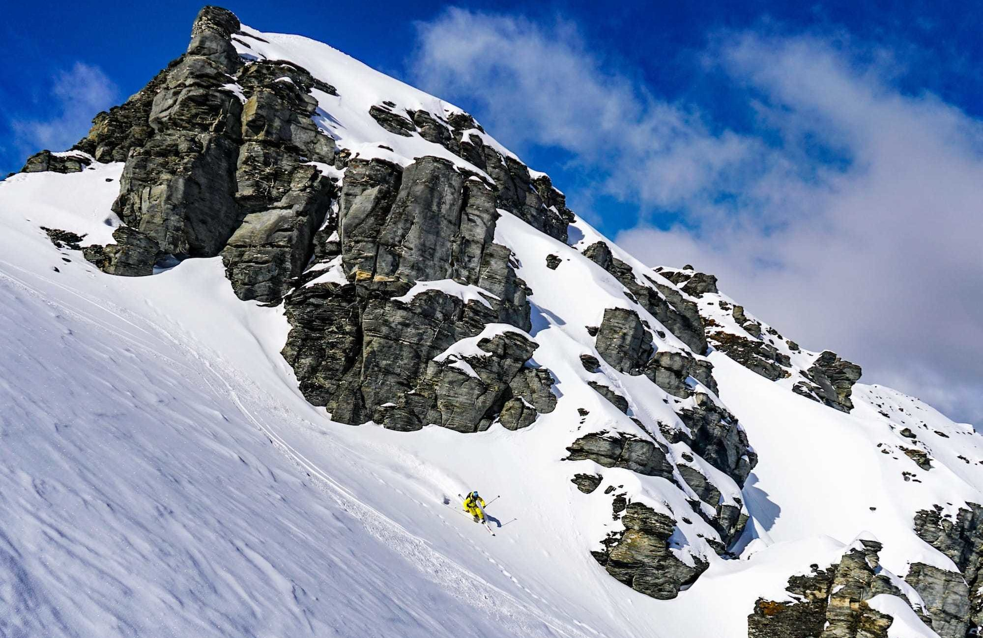 Treble Cone Backcountry Skiing