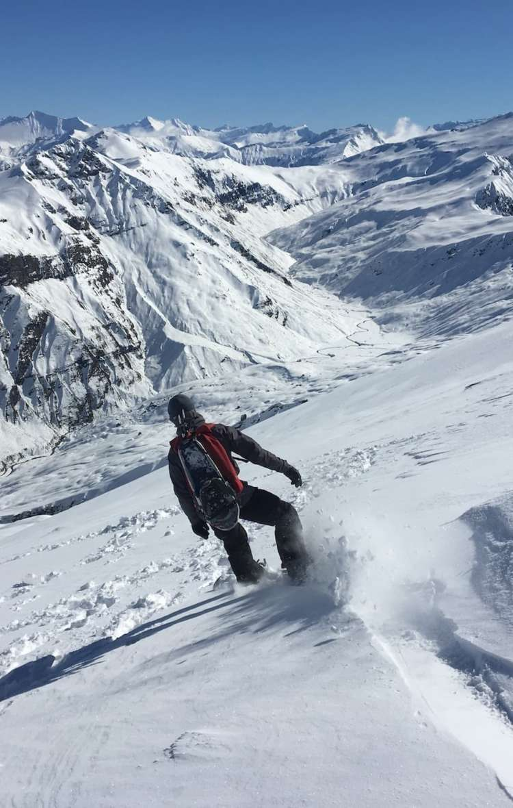 Backcountry boarding