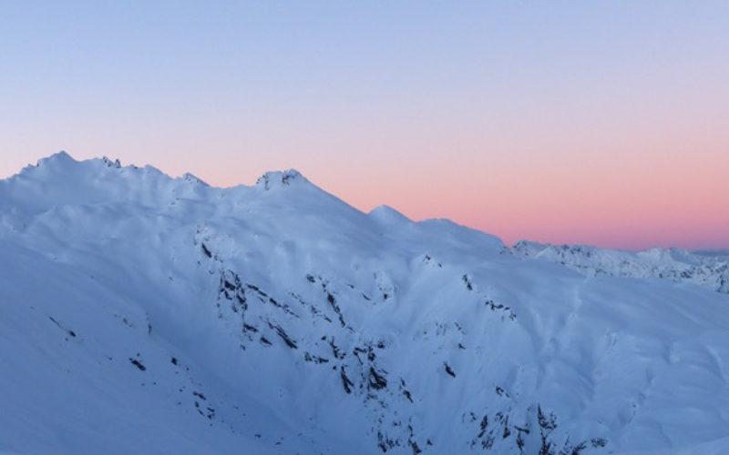 Chalet sunset2