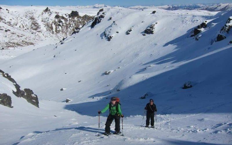 Pisa Range Snowshoeing