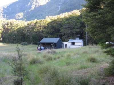 Top Forks Hut, Mt Aspiring National Park, NZ